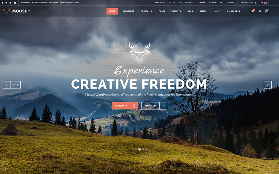 Moose | Multi-purpose Theme for Creative Business